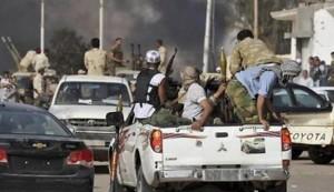 Seven Libyan troops killed in attacks near Benghazi