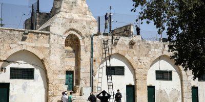 Israelun Masjidhul Aqsa ga Loud Speaker Harukoffi